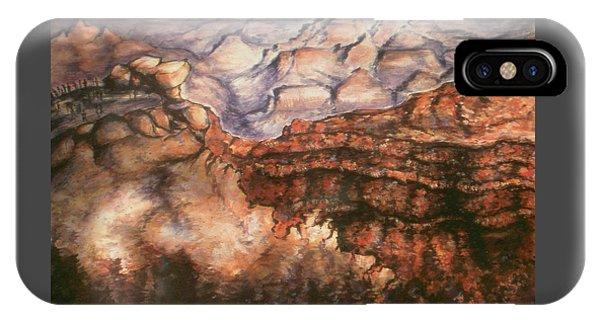 Grand Canyon Arizona - Landscape Art Painting IPhone Case