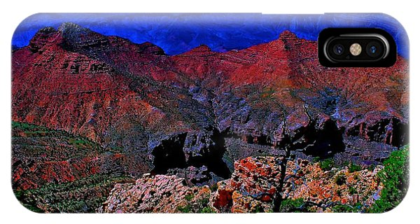 Grand Canyon Beauty Exposed IPhone Case