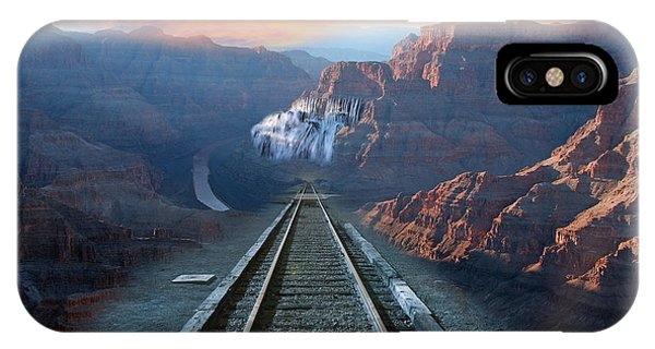 Grand Canyon Collage IPhone Case