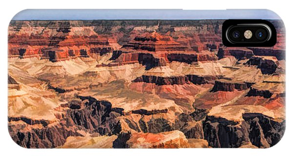Grand Canyon iPhone Case - Grand Canyon Grand View Panorama by Christopher Arndt