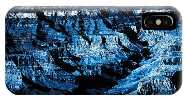 Grand Canyon In Blue IPhone Case
