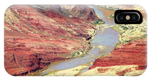 Grand Canyon River View Phone Case by John Potts