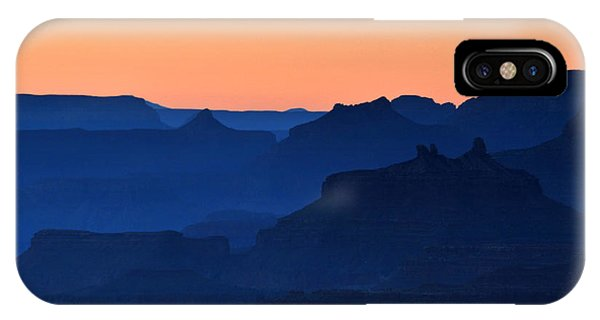 Grand Canyon South Rim Navajo Point Sunset  IPhone Case