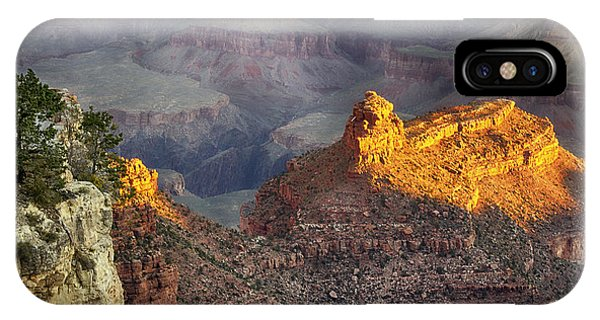 IPhone Case featuring the photograph Grand Canyon Sun Rise by Michael Hope