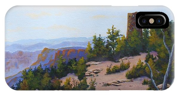 Grand Canyon Watchtower IPhone Case