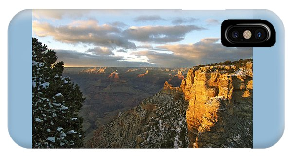 Grand Canyon. Winter Sunset IPhone Case