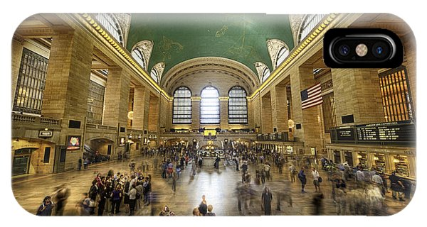 Grand Central Rush IPhone Case