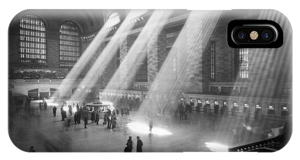 Grand Central Station Sunbeams IPhone Case