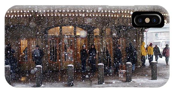Grand Central Terminal Snow Color IPhone Case