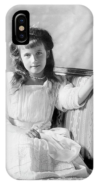 Grand Duchess Anastasia Of Russia IPhone Case