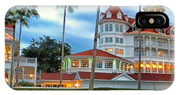 Grand Floridian Resort Walt Disney World IPhone Case