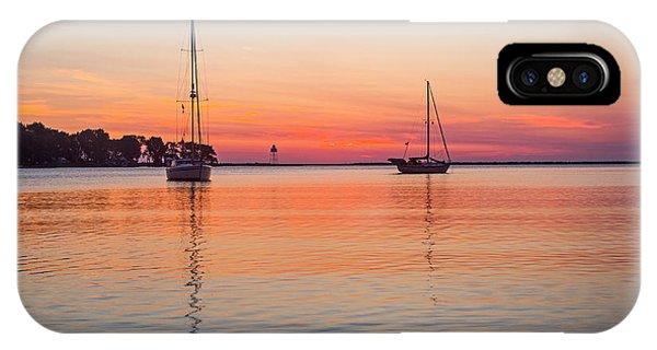 Grand Marais Sunrise IPhone Case