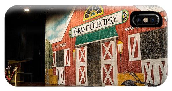 Ryman Grand Ole Opry IPhone Case
