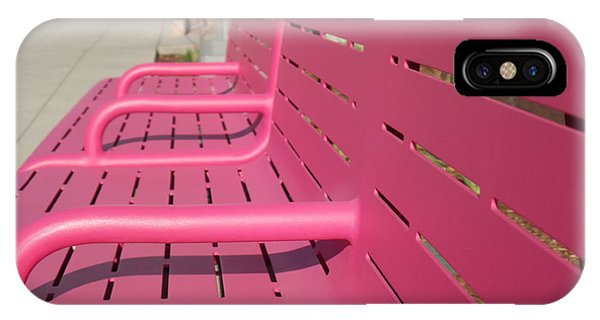 Grand Park Pink IPhone Case