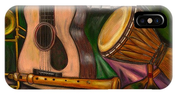 Music iPhone Case - Grand Pop by Artist RiA
