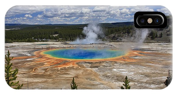 Grand Prismatic Hot Spring IPhone Case