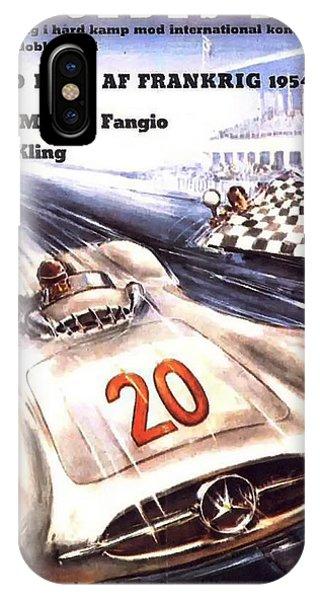 Grand Prix F1 Reims France 1954  IPhone Case