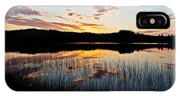 Grand Sable Lake Sunset IPhone Case