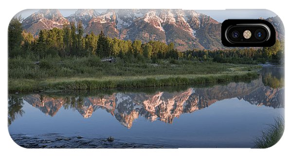Teton iPhone Case - Grand Teton Awakening by Sandra Bronstein