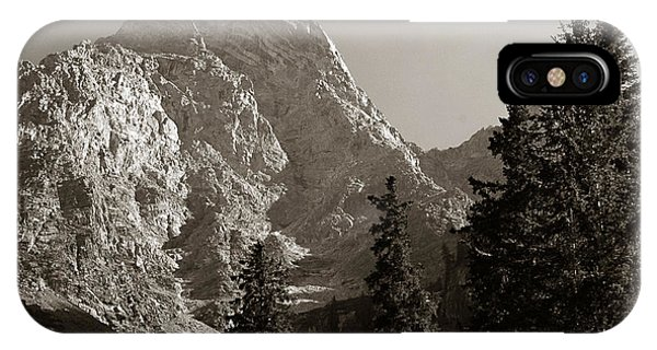 IPhone Case featuring the photograph Grand Teton by Michael Kirk
