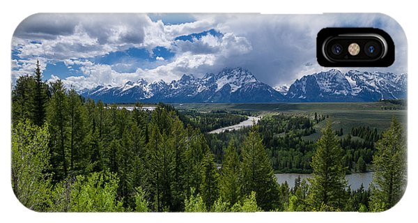 Grand Teton Np IPhone Case