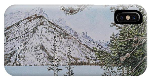 Grand Teton View IPhone Case