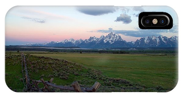 Rocky Mountain Np iPhone Case - Grand Tetons Before Sunrise by Brian Harig