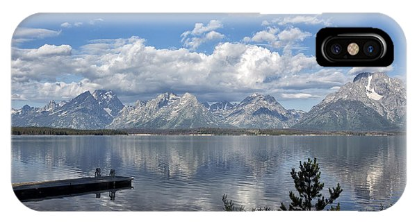 Grand Tetons In The Morning Light IPhone Case