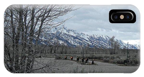 Grand Tetons Landscape IPhone Case