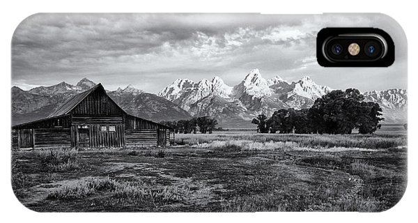 Grand Tetons National Park IPhone Case