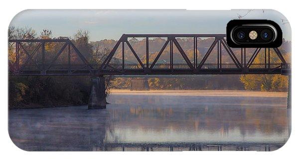Grand Trunk Railroad Bridge IPhone Case