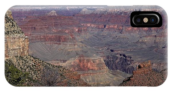 Grand View Of Grand Canyon Canyon IPhone Case