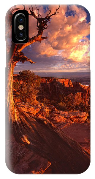 Grand View Point Sunrise IPhone Case