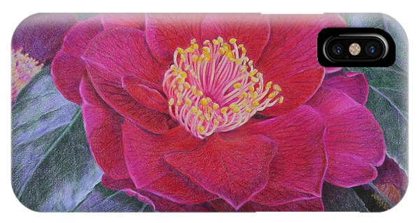 Close Up Floral iPhone Case - Grandeur by Jan Lawnikanis