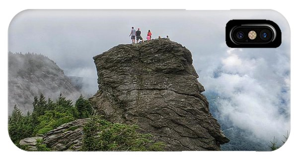 Grandfather Mountain Hikers IPhone Case