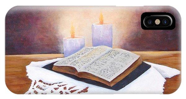 Grandma's Bible IPhone Case