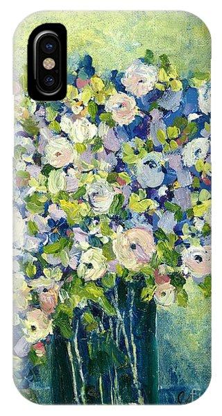 Grandma's Flowers IPhone Case