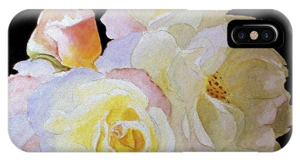 Grandmas Roses Of Color IPhone Case