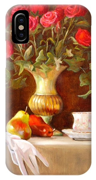 iPhone Case - Grandmothers Tea by Karen Langley