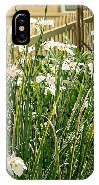 Grandpa's Lilies IPhone Case