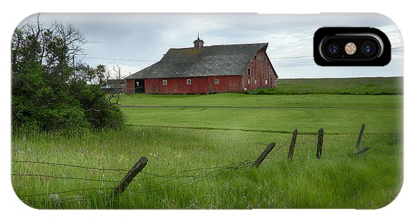 Grangeville Barn IPhone Case