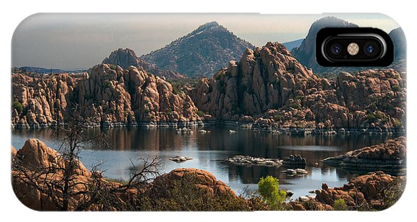 IPhone Case featuring the photograph Granite Dells At Watson Lake by Tam Ryan
