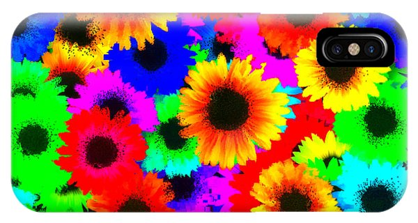 Granny's Garden Colorful IPhone Case