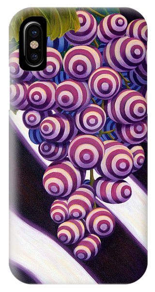 Grape De Menthe IPhone Case