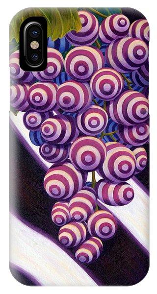 IPhone Case featuring the painting Grape De Menthe by Sandi Whetzel