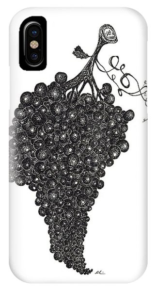 Grapefull Greetings IPhone Case