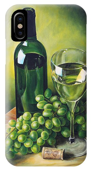 Grapes And Wine IPhone Case