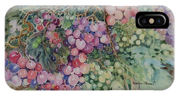 Grapes Galore IPhone Case