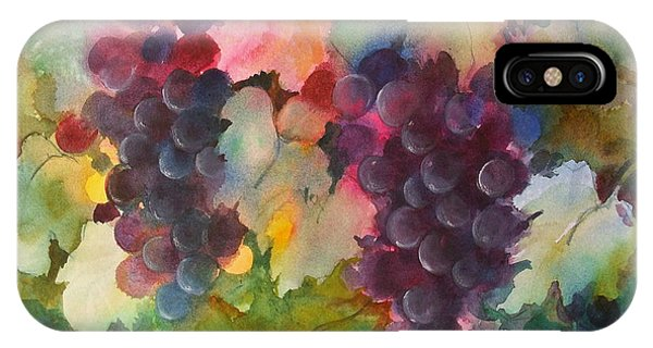 Grapes In Light IPhone Case