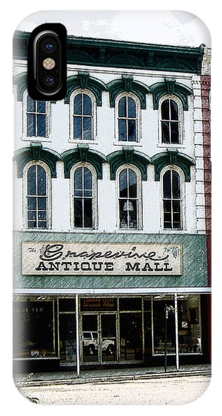 Grapevine Antiques IPhone Case